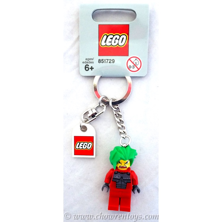 LEGO Exo-Force Sets: 851729 Takeshi Key Chain NEW