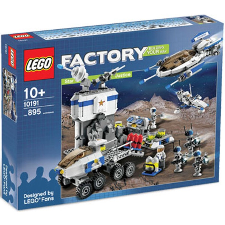 LEGO Factory Sets: 10191 Star Justice NEW