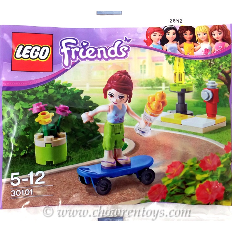 LEGO Friends Sets: 30101 Skateboarder NEW