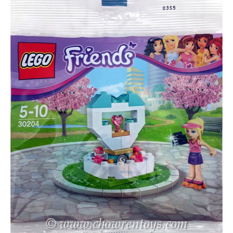 LEGO Friends Sets: 30204 Wish Fountain NEW