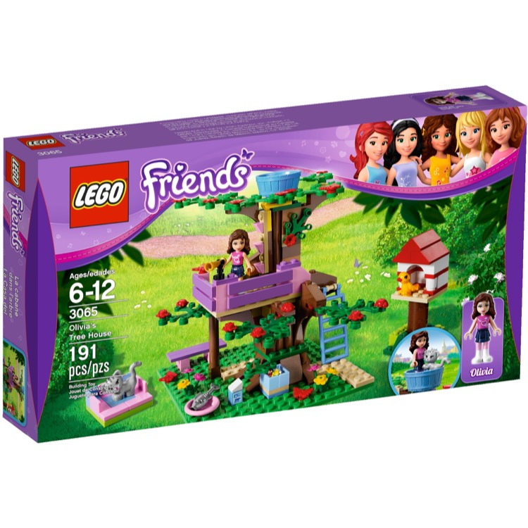 LEGO Friends Sets: 3065 Olivia's Tree House NEW