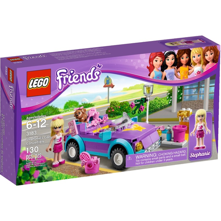 LEGO Friends Sets: 3183 Stephanie's Cool Convertible NEW