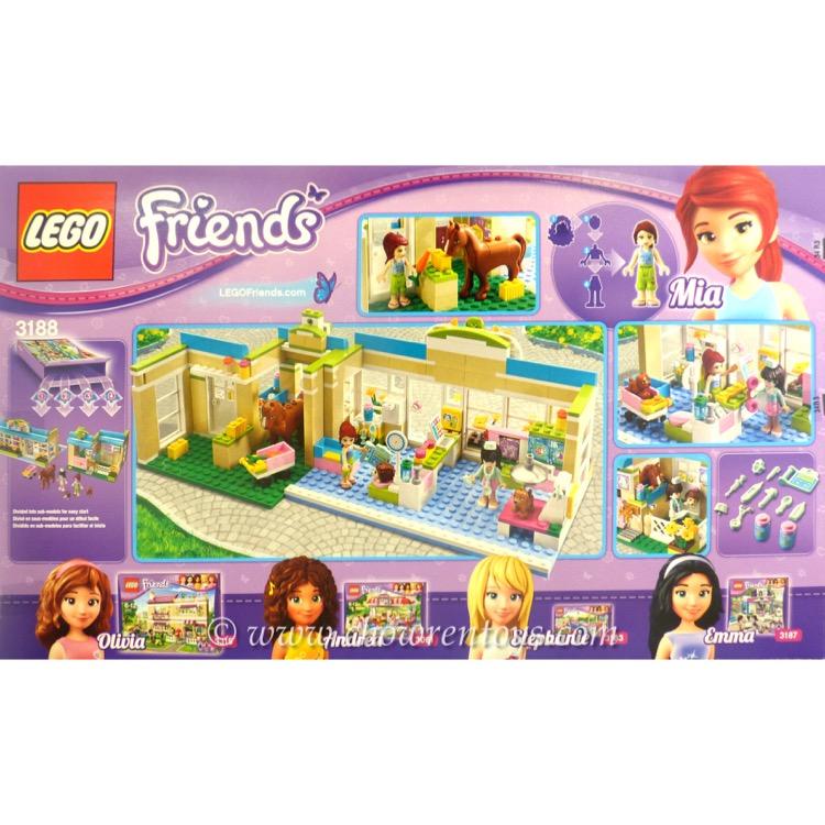 LEGO Friends Sets: 3188 Heartlake Vet NEW