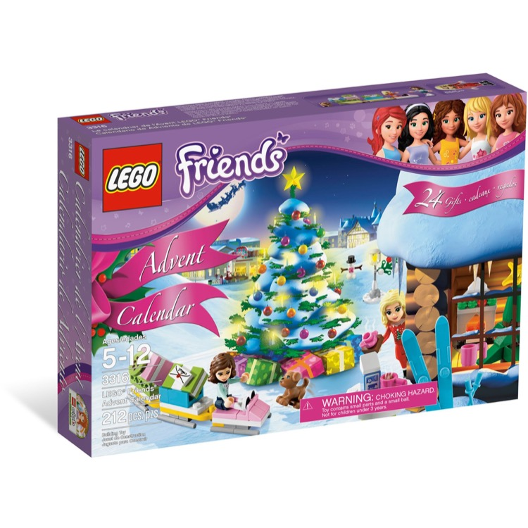 LEGO Friends Sets: 3316 Friends Advent Calendar NEW *Rough Shape*