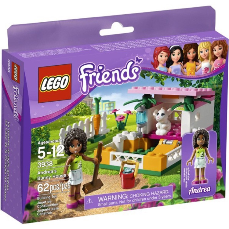 LEGO Friends Sets: 3938 Andrea's Bunny House NEW
