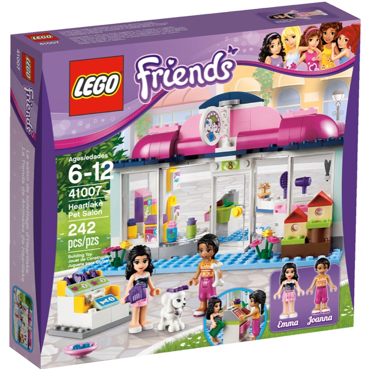 LEGO Friends Sets: 41007 Heartlake Pet Salon NEW