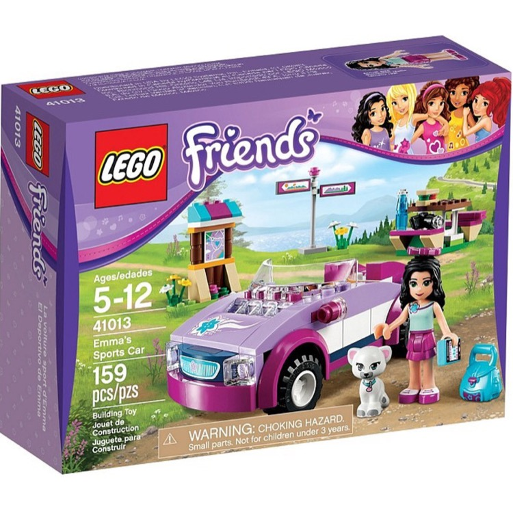 LEGO Friends Sets: 41013 Emma's Sports Car NEW *Damaged Box*