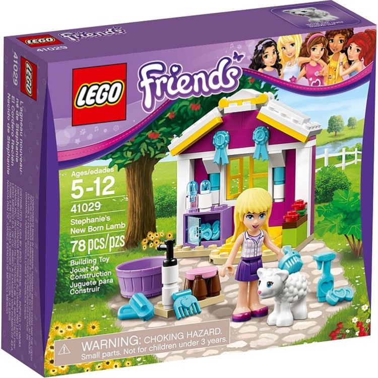 LEGO Friends Sets: 41029 Stephanie's New Born Lamb NEW