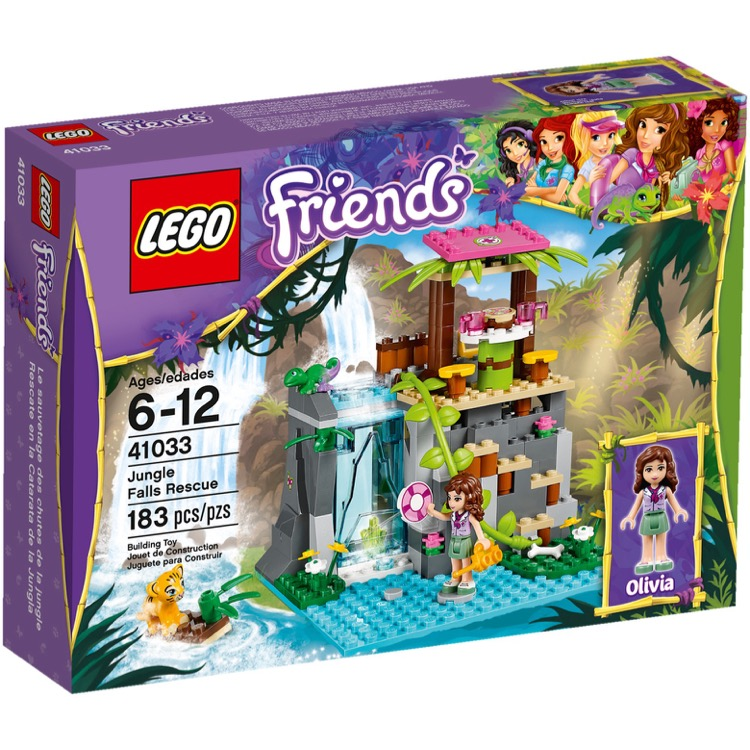 LEGO Friends Sets: 41033 Jungle Falls Rescue NEW