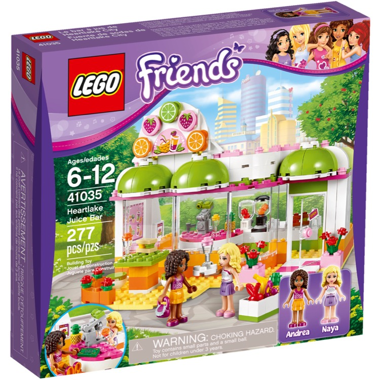 LEGO Friends Sets: 41035 Heartlake Juice Bar NEW