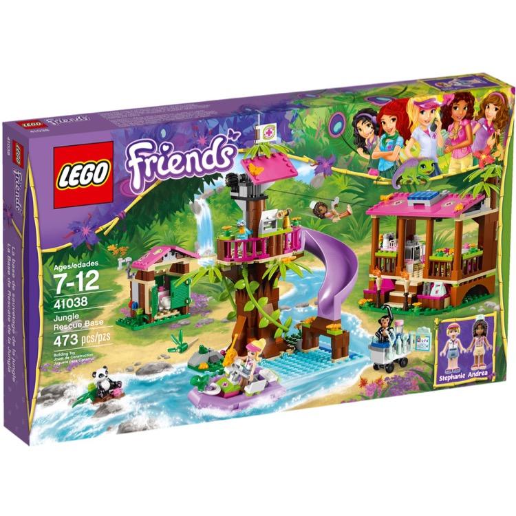 Lego Friends Sets 41038 Jungle Rescue Base New