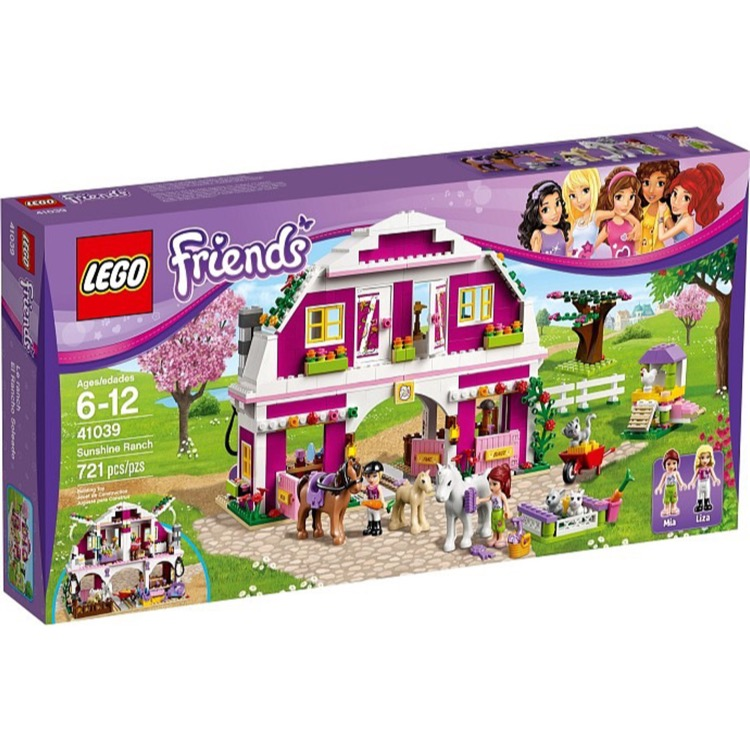 LEGO Friends Sets: 41039 Sunshine Ranch NEW