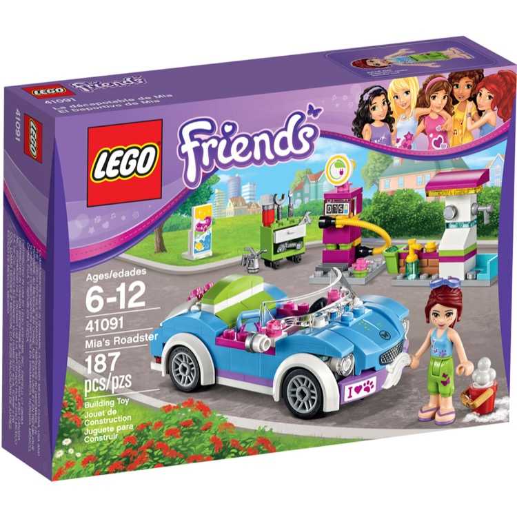 LEGO Friends Sets: 41091 Mia's Roadster NEW *Damaged Box*