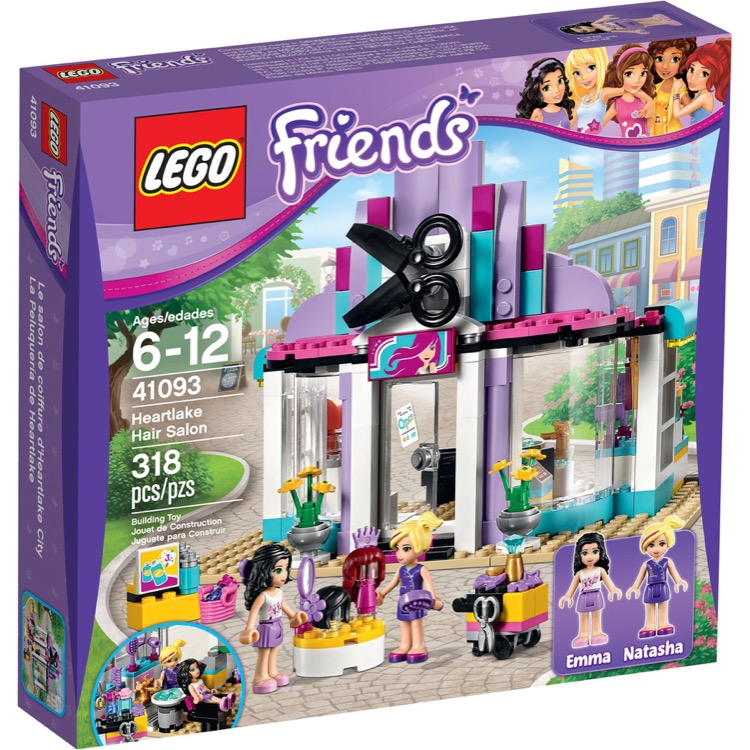 LEGO Friends Sets: 41093 Heartlake Hair Salon NEW