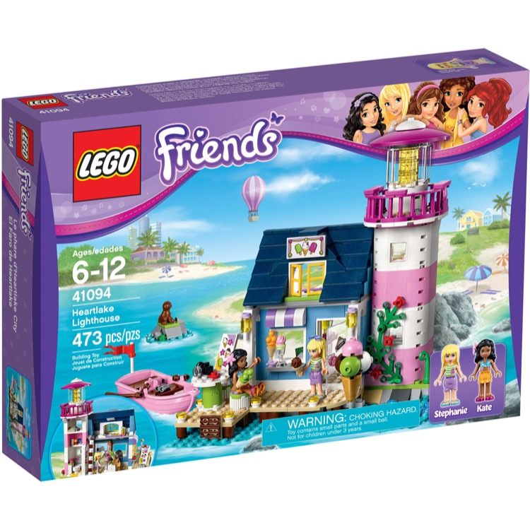 LEGO Friends Sets: 41094 Heartlake Lighthouse NEW