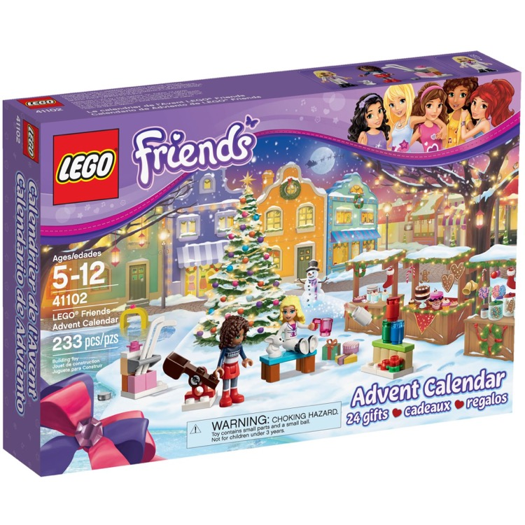 LEGO Friends Sets: 41102 Friends Advent Calendar NEW *Damaged Box*