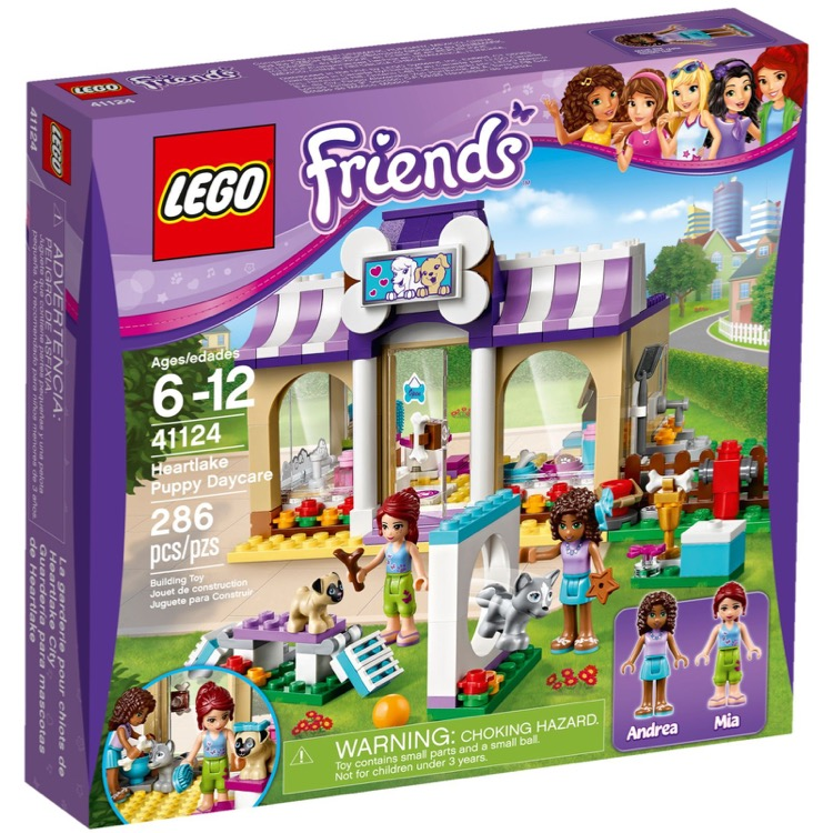 lego friends sets 41124 puppy daycare new