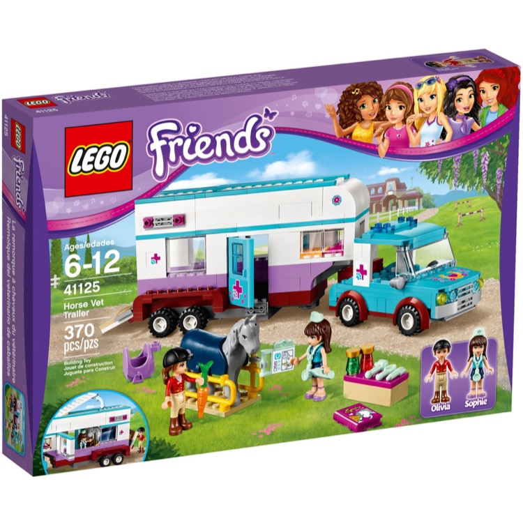 LEGO Friends Sets: 41125 Horse Trailer NEW