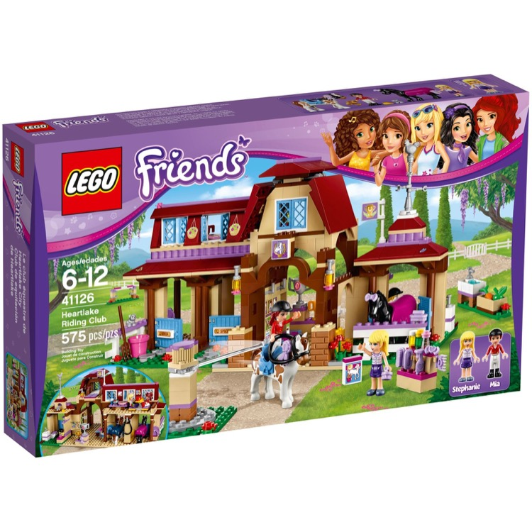 LEGO Friends Sets: 41126 Horse Riding Club NEW