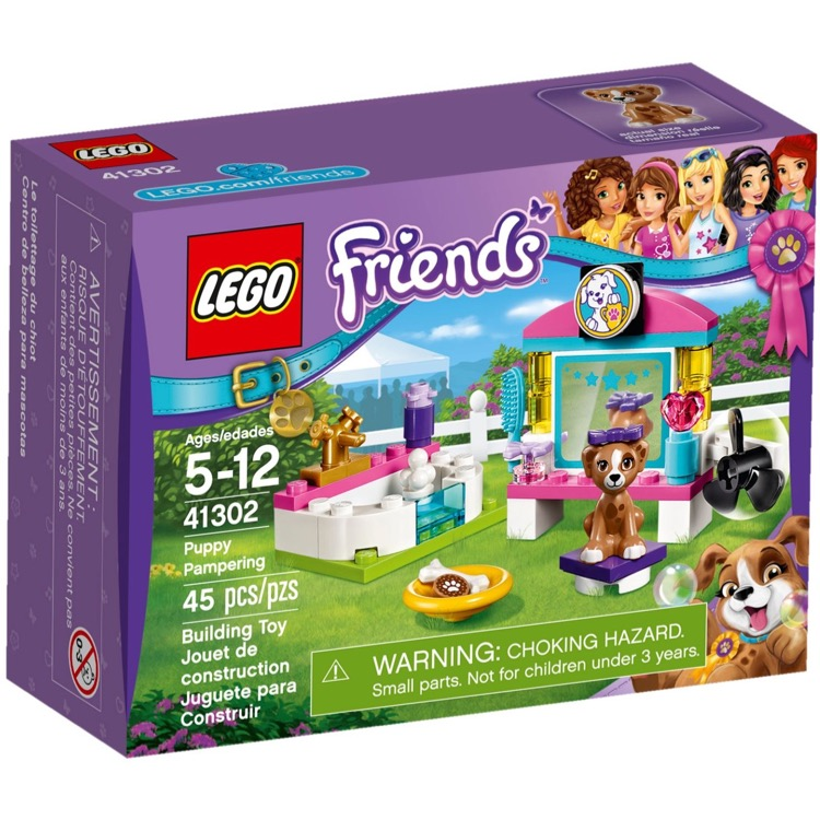 LEGO Friends Sets: 41302 Puppy Pampering NEW *Damaged Box*