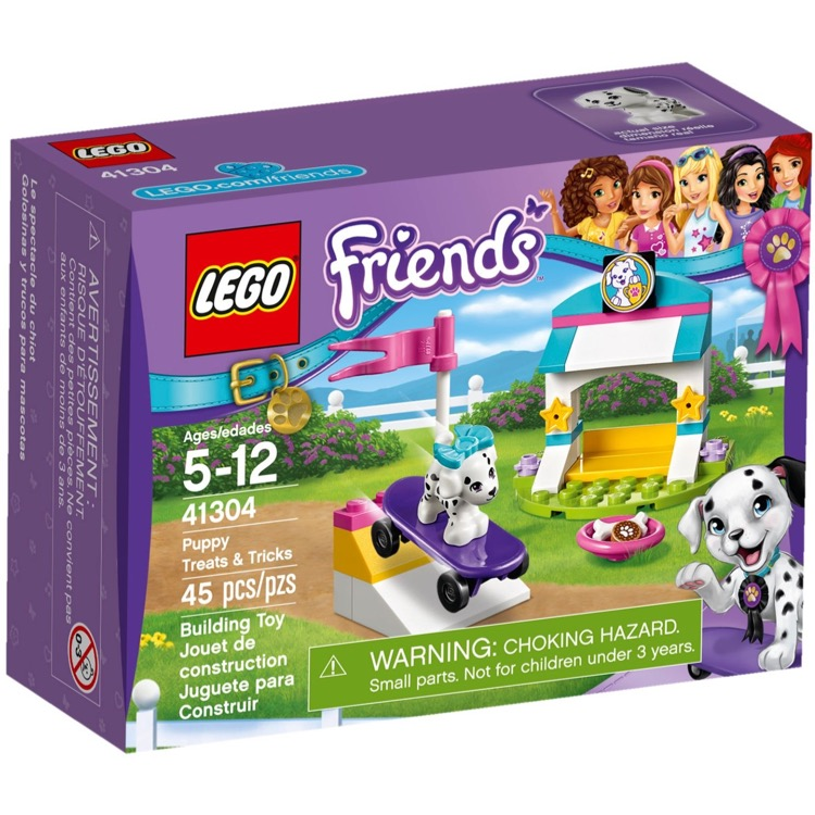 LEGO Friends Sets: 41304 Puppy Treats & Tricks NEW