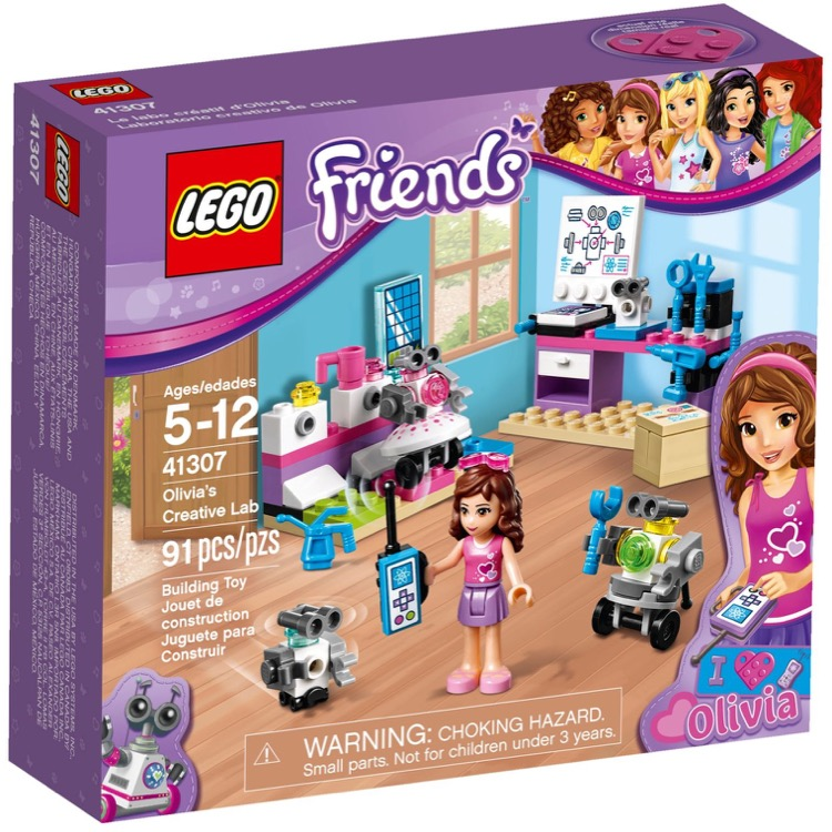 LEGO Friends Sets: 41307 Olivia's Creative Lab NEW