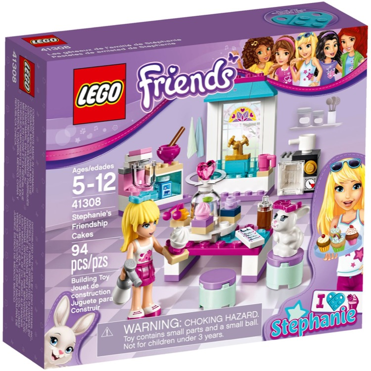 LEGO Friends Sets: 41308 Stephanie's Friendship Cakes NEW