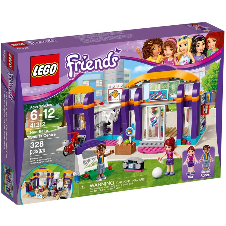 LEGO Friends Sets: 41312 Heartlake Sports Centre NEW