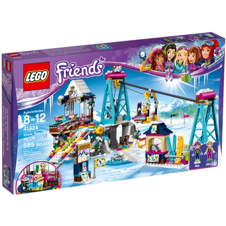 LEGO Friends Sets: 41324 Snow Resort Ski Lift NEW