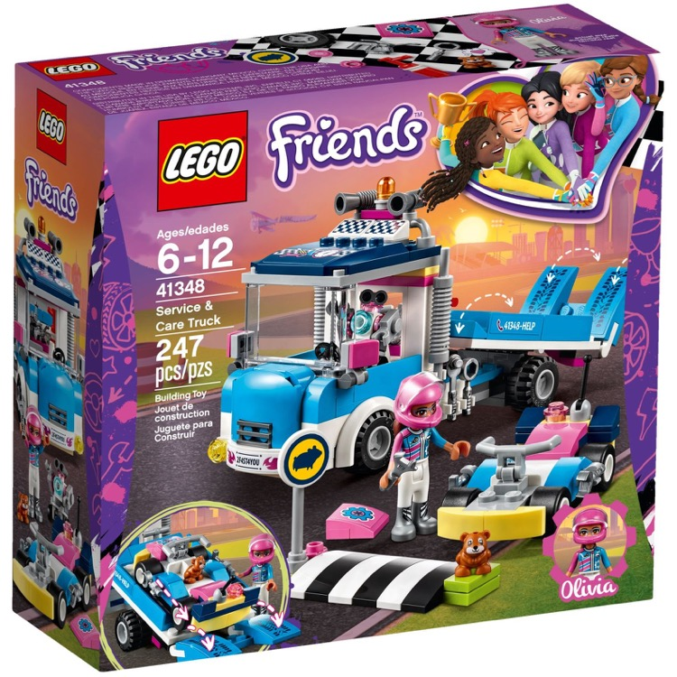LEGO Friends Sets: 41348 Service & Care Truck NEW