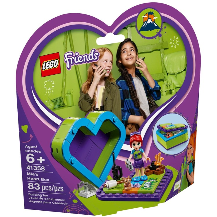 LEGO Friends Sets: 41358 Mia's Heart Box NEW