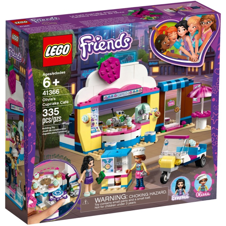LEGO Friends Sets: 41366 Olivia's Cupcake Cafe NEW
