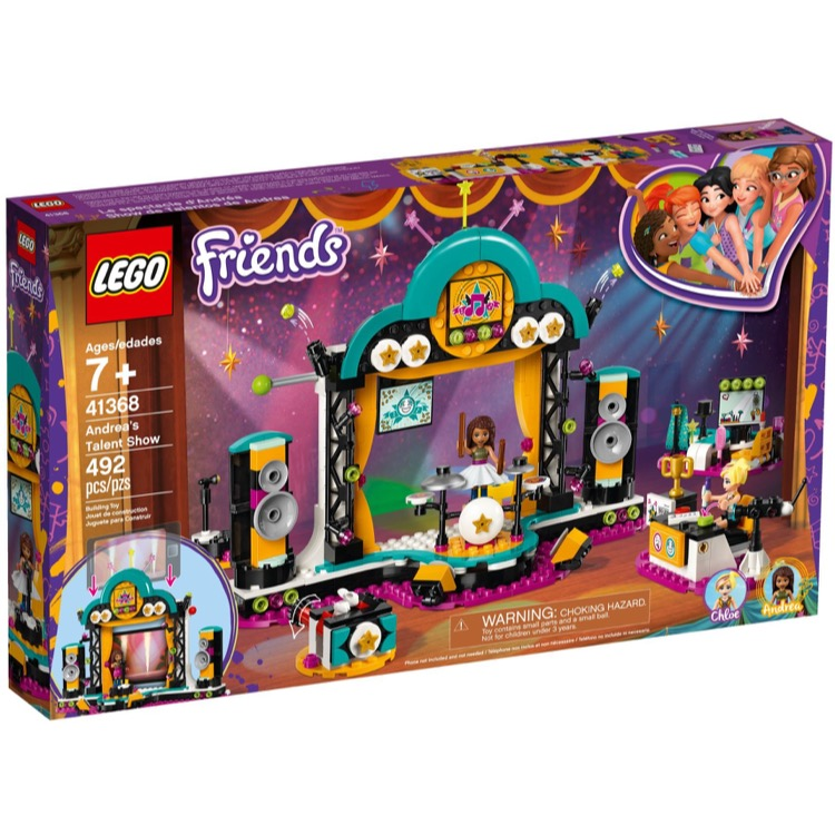 LEGO Friends Sets: 41368 Andrea's Talent Show NEW
