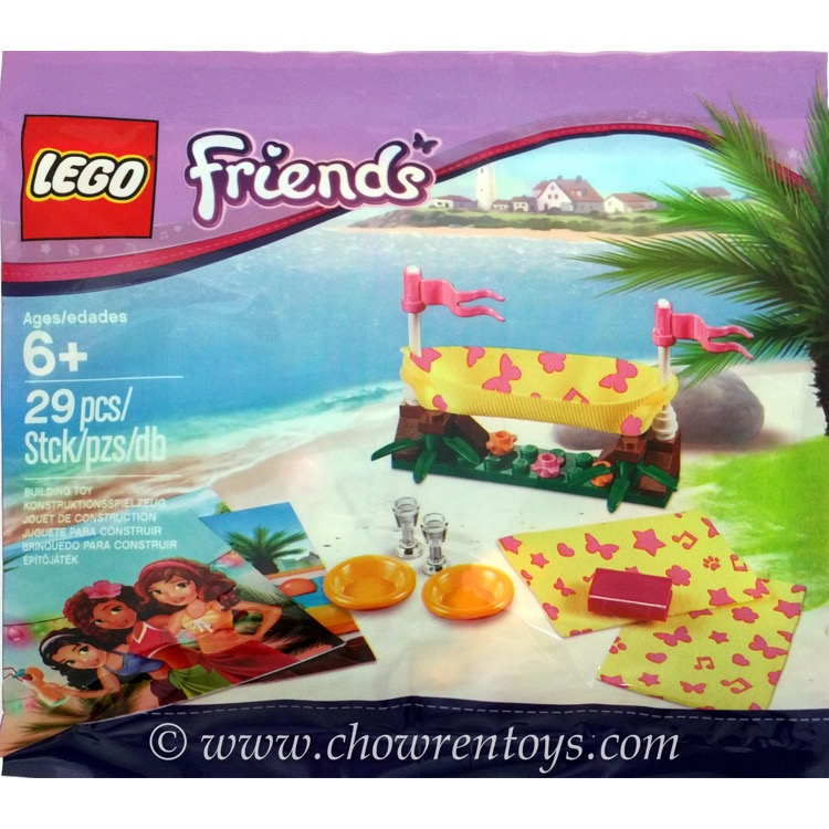 LEGO Friends Sets: 5002113 Beach Hammock NEW