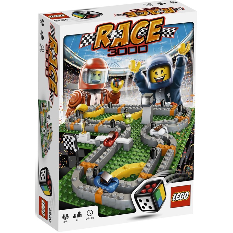 LEGO Games Sets: 3839 Race 3000 NEW