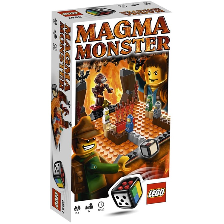LEGO Games Sets: 3847 Magma Monster NEW
