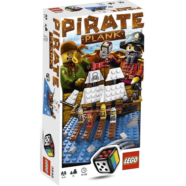LEGO Games Sets: 3848 Pirate Plank NEW