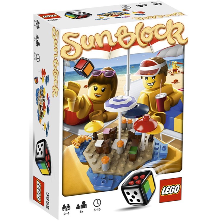 LEGO Games Sets: 3852 Sunblock NEW