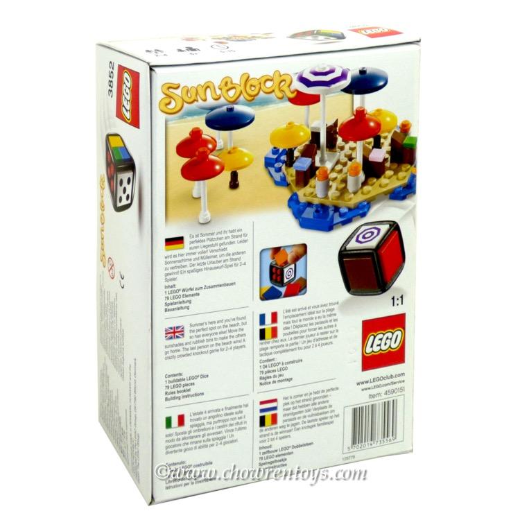 Lego Games Sets 3852 Sunblock New