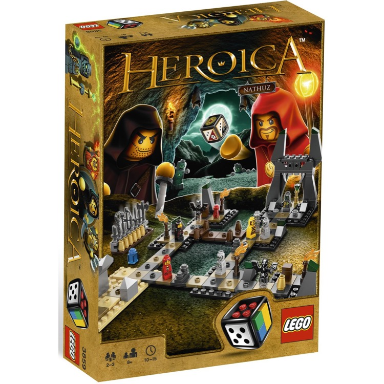 LEGO Games Sets: 3859 Heroica Caverns of Nathuz NEW