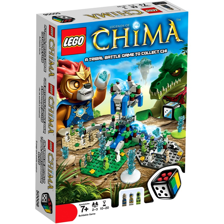 LEGO Games Sets: 50006 Legends of Chima NEW