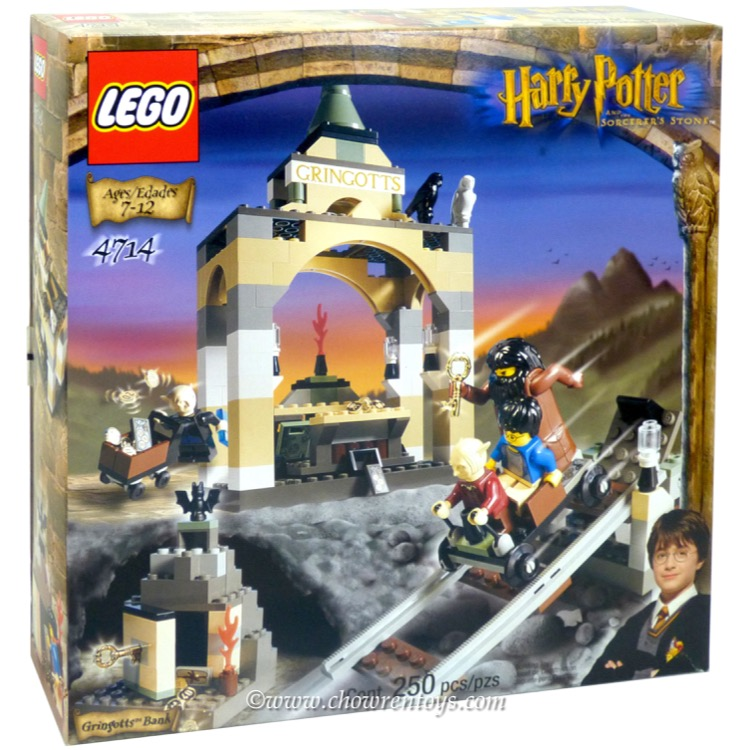 LEGO Harry Potter Sets: 4714 Gringotts Bank NEW