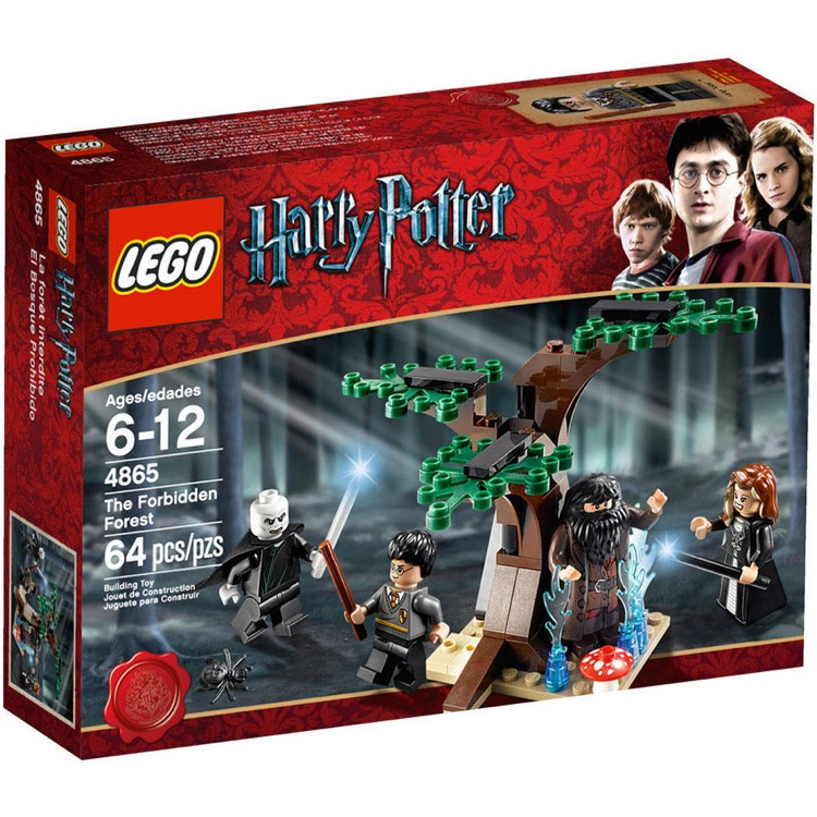 LEGO Harry Potter Sets: 4865 The Forbidden Forest NEW