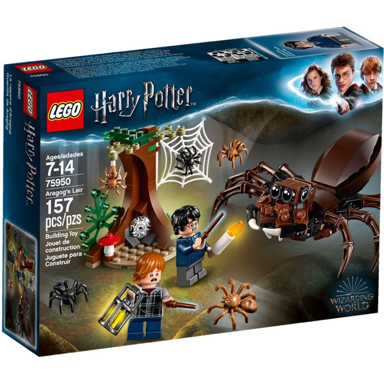 LEGO Harry Potter Sets: 75950 Aragog's Lair NEW