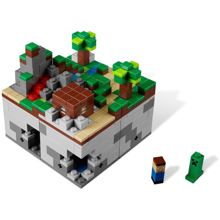 Lego Minecraft Sets 21102 Minecraft Micro World The Forest New