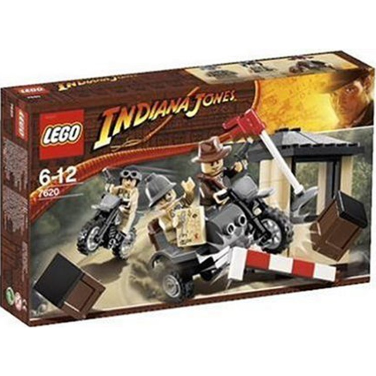 LEGO Indiana Jones Sets: 7620 Indiana Jones Motorcycle Chase NEW
