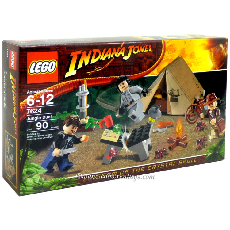 LEGO Indiana Jones Sets: 7624 Jungle Duel NEW
