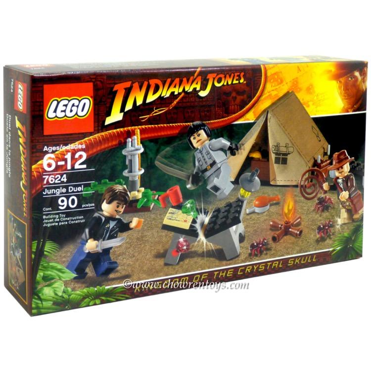 Lego Indiana Jones Sets 7624 Jungle Duel New