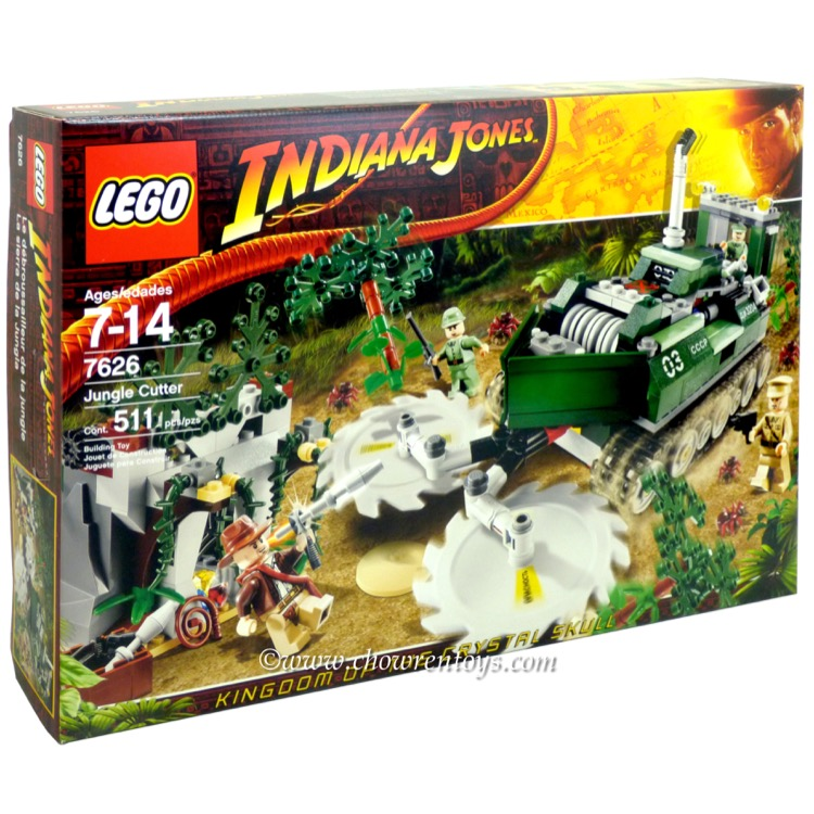 LEGO Indiana Jones Sets: 7626 Jungle Cutter NEW