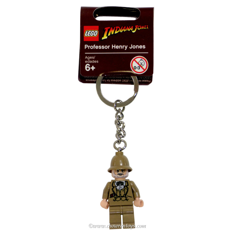 LEGO Indiana Jones Sets: 852146 Professor Henry Jones Key Chain NEW